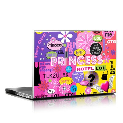 Laptop Skin - Princess Text Me