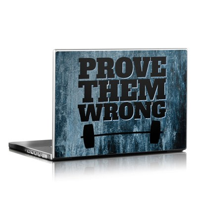Laptop Skin - Prove Them Wrong