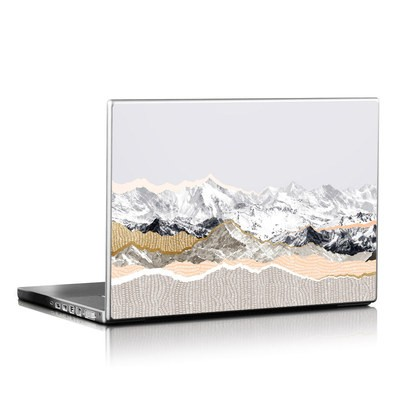 Laptop Skin - Pastel Mountains