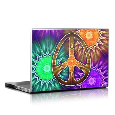 Laptop Skin - Peace Triptik