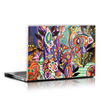 Laptop Skin - Purple Birds