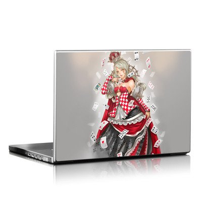 Laptop Skin - Queen Of Cards