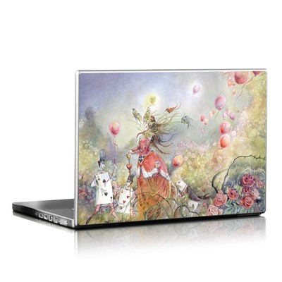 Laptop Skin - Queen of Hearts
