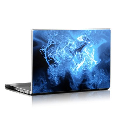 Laptop Skin - Blue Quantum Waves