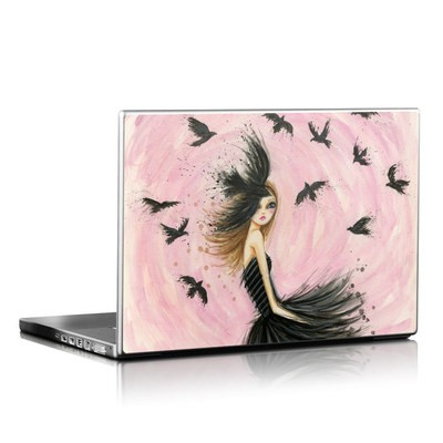 Laptop Skin - Raven Haired Beauty