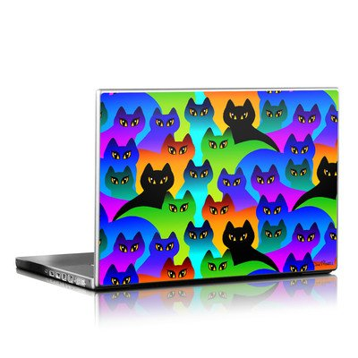 Laptop Skin - Rainbow Cats