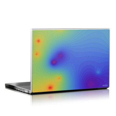Laptop Skin - Rainbow Contours