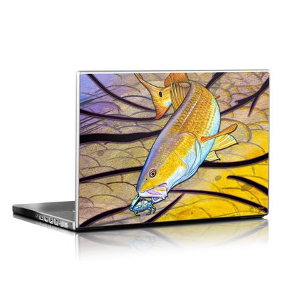 Laptop Skin - Red Fish