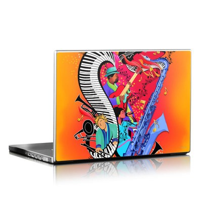 Laptop Skin - Red Hot Jazz