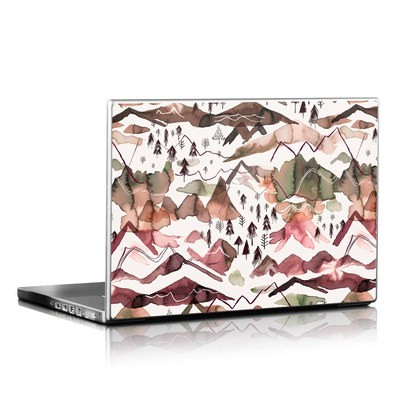 Laptop Skin - Red Mountains