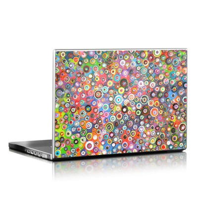 Laptop Skin - Round and Round