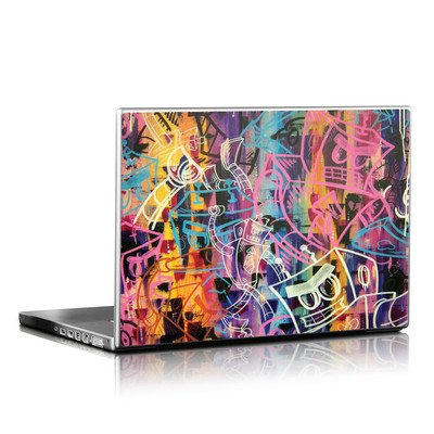 Laptop Skin - Robot Roundup
