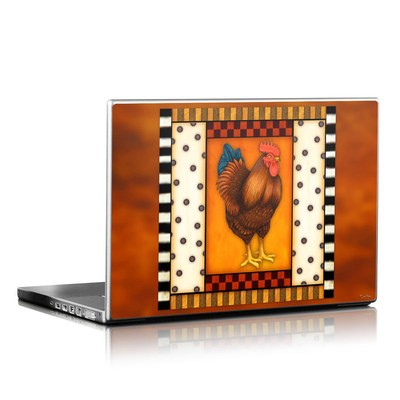Laptop Skin - Rooster Square