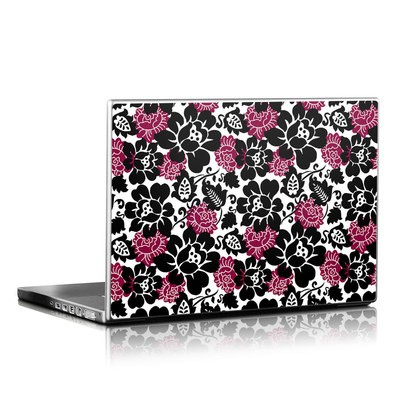 Laptop Skin - Rose Noir