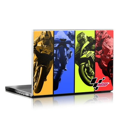 Laptop Skin - Race Panels