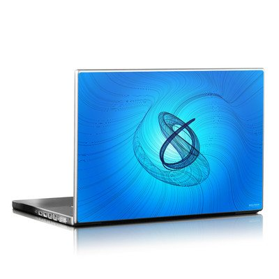 Laptop Skin - Rotating Swirls