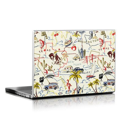 Laptop Skin - Road Trip