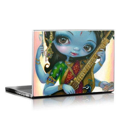 Laptop Skin - Saraswati Playing
