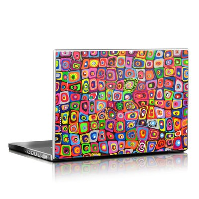 Laptop Skin - Square Dancing