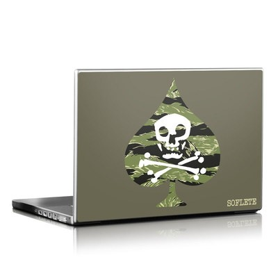 Laptop Skin - SOFLETE Tiger Stripe Logo