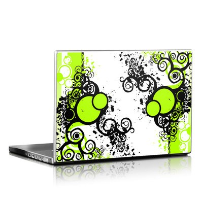 Laptop Skin - Simply Green