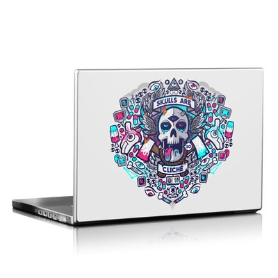 Laptop Skin - Skulls Are Cliche