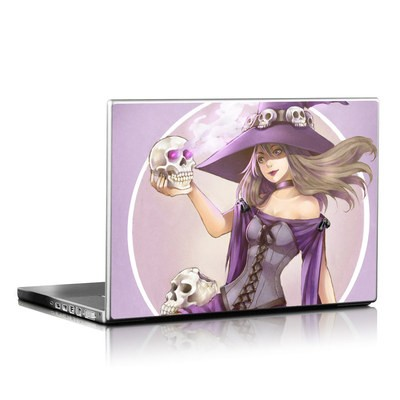 Laptop Skin - Skull Witch