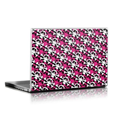 Laptop Skin - Skully Pink
