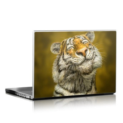 Laptop Skin - Smiling Tiger