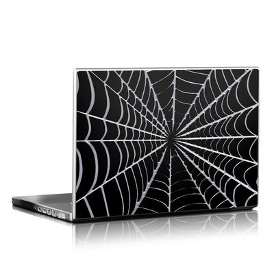 Laptop Skin - Spiderweb