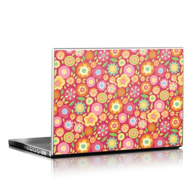Laptop Skin - Flowers Squished
