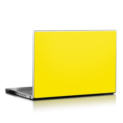 Laptop Skin - Solid State Yellow
