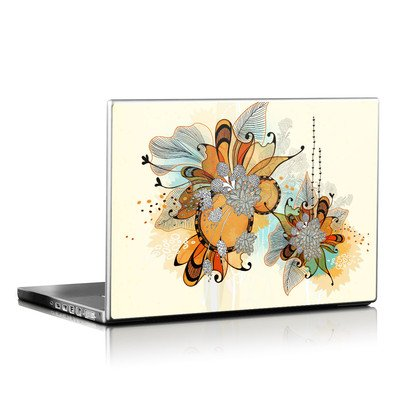 Laptop Skin - Sunset Flowers