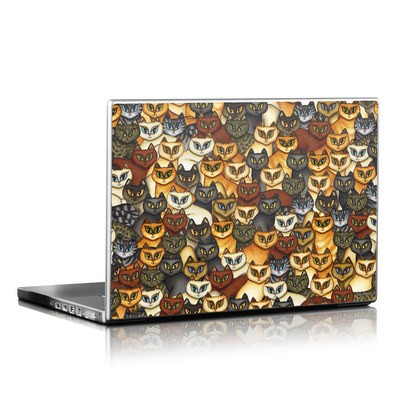 Laptop Skin - Stacked Cats