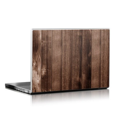 Laptop Skin - Stained Wood