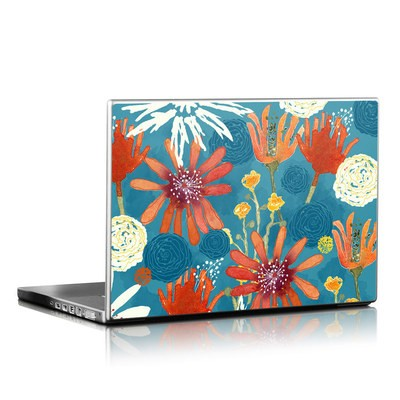 Laptop Skin - Sunbaked Blooms