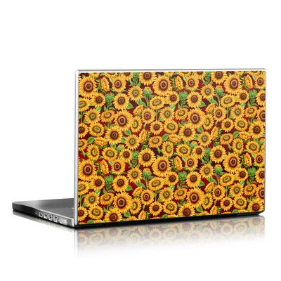 Laptop Skin - Sunflower Patch