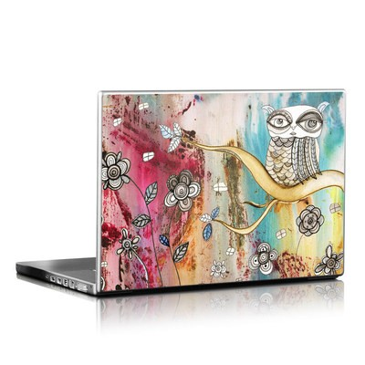 Laptop Skin - Surreal Owl