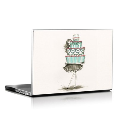 Laptop Skin - She Takes The Cake