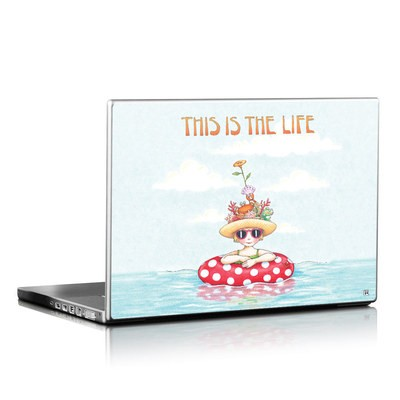 Laptop Skin - This Is The Life