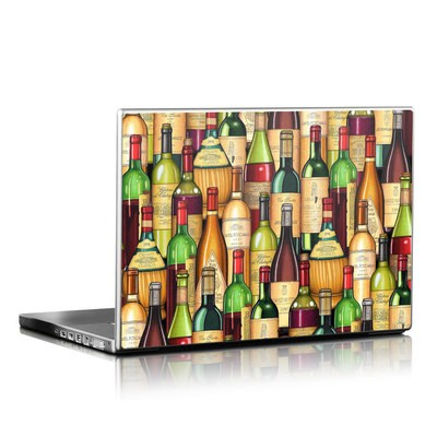 Laptop Skin - Time For Wine