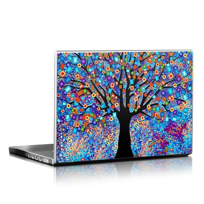 Laptop Skin - Tree Carnival