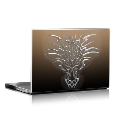 Laptop Skin - Tribal Dragon Chrome