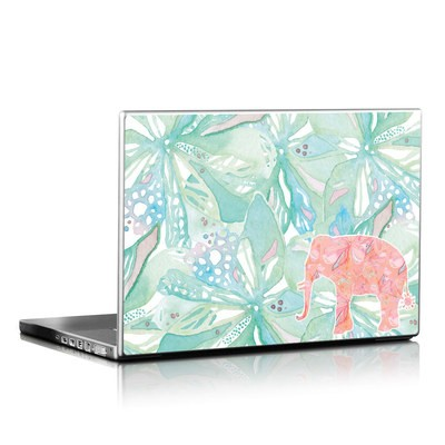 Laptop Skin - Tropical Elephant