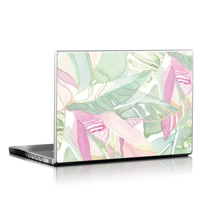 Laptop Skin - Tropical Leaves