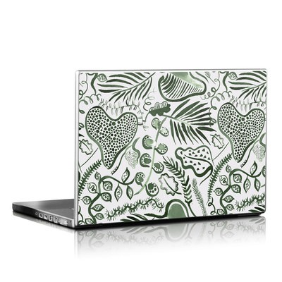 Laptop Skin - Tropical Forest Leaves