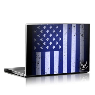 Laptop Skin - USAF Flag