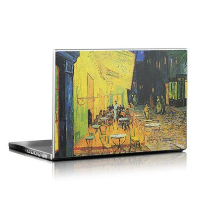 Laptop Skin - Cafe Terrace At Night