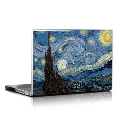 Laptop Skin - Starry Night