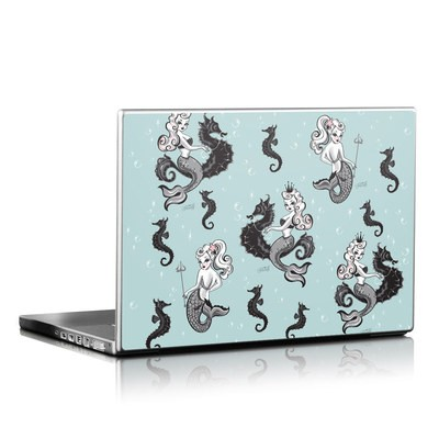 Laptop Skin - Vintage Mermaid